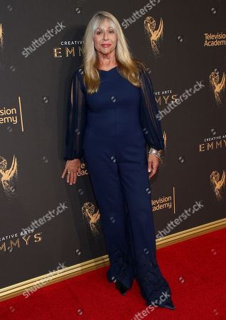 Joy Zapata arrives at night two of the Television Academy's 2017 Creative Arts Emmy Awards at the Microsoft Theater, in Los Angeles