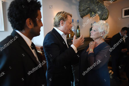 Adeel Akhtar, Eddie Izzard and Judi Dench