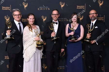 Editorial image of 2017 Creative Arts Emmy Awards - Press Room - Night Two, Los Angeles, USA - 10 Sep 2017