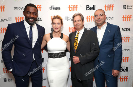 Idris Elba, Kate Winslet, Beau Bridges and Hany Abu-Assad, Director