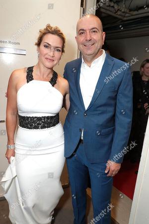 Kate Winslet and Hany Abu-Assad, Director
