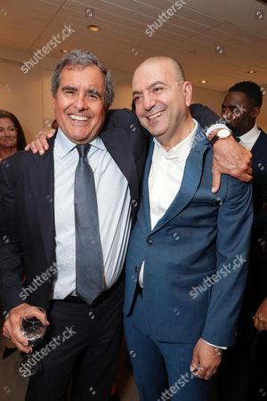 Peter Chernin, Producer, and Hany Abu-Assad, Director