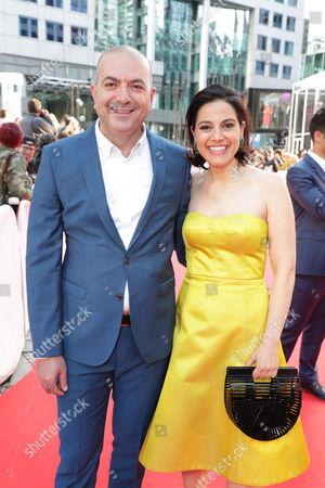 Hany Abu-Assad, Director, and Amira Diab, Associate Producer