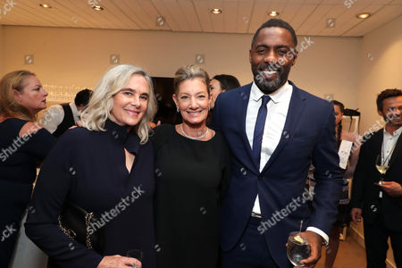 Renee Ehrlich Kalfus, Costume Designer, Elizabeth Gabler, President of Fox 2000, and Idris Elba