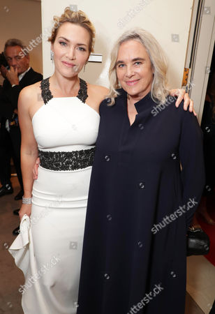 Stock Picture of Kate Winslet and Renee Ehrlich Kalfus, Costume Designer