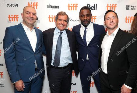 Hany Abu-Assad, Director, Peter Chernin, Producer, Idris Elba and David Ready, Producer