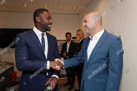 Idris Elba and Hany Abu-Assad, Director