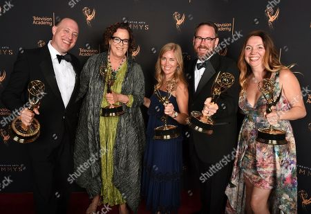 Editorial image of Television Academy's 2017 Creative Arts Emmy Awards - Portraits - Night 2, Los Angeles, USA - 10 Sep 2017