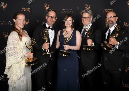 Editorial picture of Television Academy's 2017 Creative Arts Emmy Awards - Portraits - Night 2, Los Angeles, USA - 10 Sep 2017