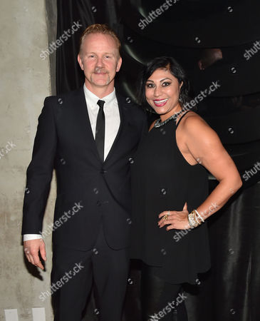 Morgan Spurlock and Hanny Patel