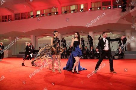 Editorial picture of 'Zhuibu' premiere, 74th Venice Film Festival, Italy - 10 Sep 2017