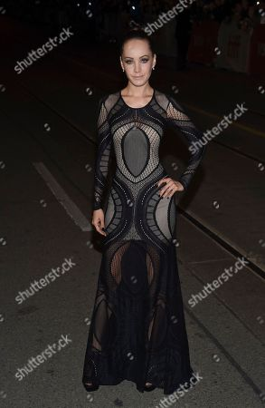 """Actress Ksenia Solo attends the """"Mother!"""" premiere on day 4 of the Toronto International Film Festival at the Princess of Wales Theatre, in Toronto"""