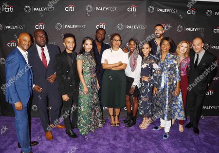 Editorial image of 'OWN: The Oprah Winfrey Network' presentation, PaleyFest, Arrivals, Los Angeles, USA - 10 Sep 2017