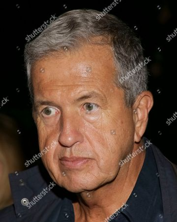 Fashion photographer Mario Testino attends the FENTY PUMA by Rihanna runway show at the Park Avenue Armory, in New York