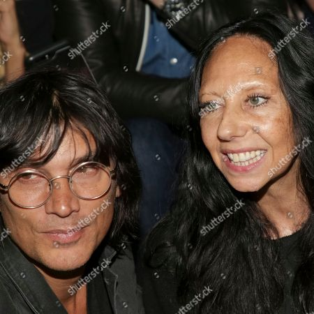 Vinoodh Matadin, Inez van Lamsweerde. Fashion photographers Vinoodh Matadin, left, and Inez van Lamsweerde attend the FENTY PUMA by Rihanna runway show at the Park Avenue Armory, in New York