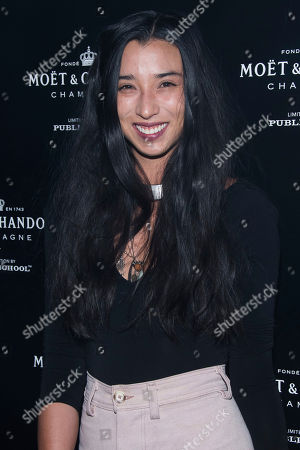Lily Kwong attends the Moet and Public School celebration as part of NYFW Spring/Summer 2018 on in New York