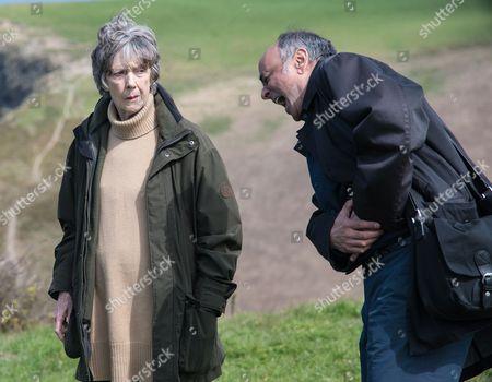 (SR8: Ep2) - Dame Eileen Atkins as Ruth Ellingham and Art Malik as John Rahmanzai.