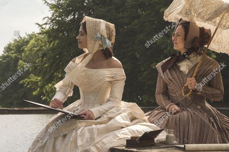 Stock Picture of (SR2: Ep5) - Daniela Holtz as Baroness Lehzen and Jenna Coleman as Victoria.