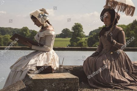 (SR2: Ep5) - Daniela Holtz as Baroness Lehzen and Jenna Coleman as Victoria.