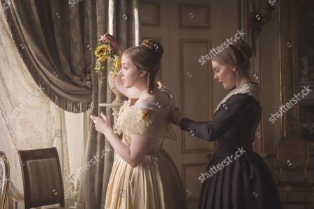 (SR2: Ep5) - Bebe Cave as Wilhemina Coke and Nell Hudson as Skerrett.