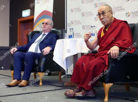 Richard Moore, director, Children in Crossfire and Dalai Lama