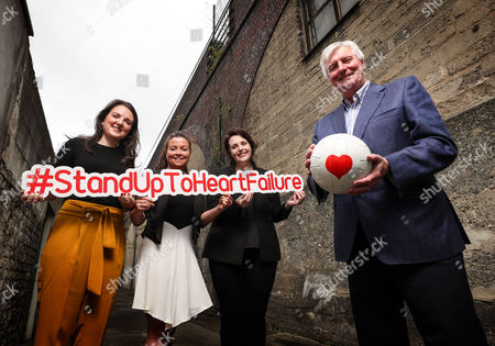 RTE?s Sunday Game presenter Michael Lyster wants you to know the symptoms and risk factors associated with heart failure leading up to World Heart Day, September 29th . Pictured at today?s Stand Up to Heart Failure launch (L-R) Ciara Keane (Heartbeat Trust), Colleen Kneafsey (Croi), Mary Anne Sweeney (Irish Heart) and Michael Lyster (RTE's Sunday Game Presenter)