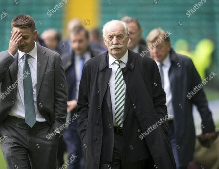 Celtic director Dermot Desmond