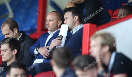 Crystal Palace Sporting Director and Former Crystal Palace manager Dougie Freedman watches the U23 Professional Development match between Crystal Palace U23 and Sheffield Wednesday U23 on 11th September 2017 at Selhurst Park Stadium, Croydon, London.