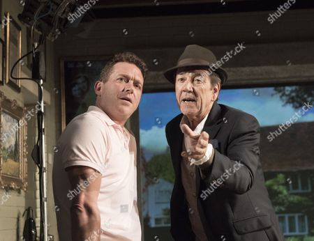 Stock Picture of Barnaby Kay as Mason,  Robert Lindsay as Jack