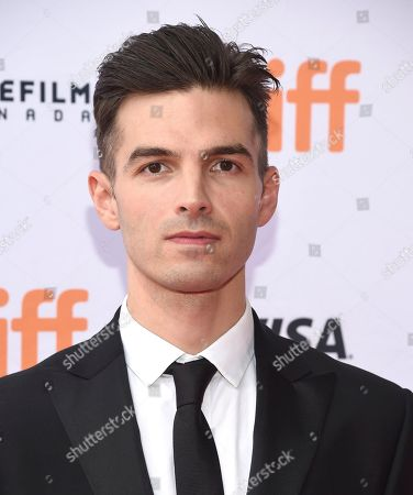 "Alex Greenwald attends a premiere for ""Unicorn Store"" on day 5 of the Toronto International Film Festival at the TIFF Bell Lightbox, in Toronto"