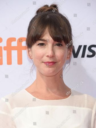 """Stock Image of Martha MacIsaac attends a premiere for """"Unicorn Store"""" on day 5 of the Toronto International Film Festival at the TIFF Bell Lightbox, in Toronto"""