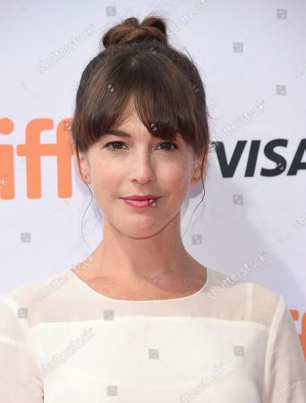 """Martha MacIsaac attends a premiere for """"Unicorn Store"""" on day 5 of the Toronto International Film Festival at the TIFF Bell Lightbox, in Toronto"""