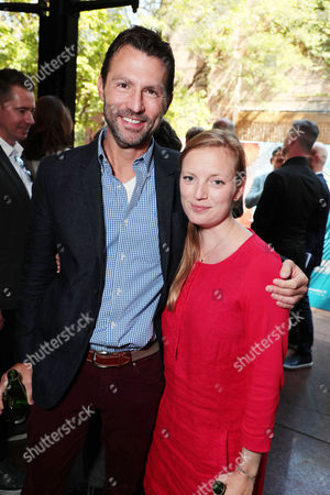 Stock Image of Jonathan King - President of Narrative Film & Television, Participant Media and Sarah Polley