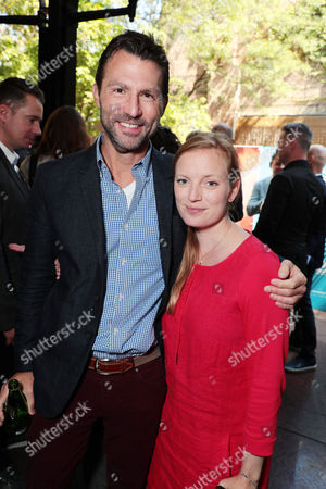 Stock Picture of Jonathan King - President of Narrative Film & Television, Participant Media and Sarah Polley