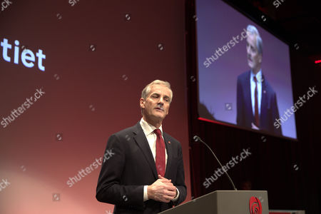Norway's Labour Party leader Jonas Gahr Store concedes that his his party has lost the election in Oslon, Norway, 11 September 2017. In a very close election, official projection shows governing right-wing coalition will be re-elected for a new four-year term.