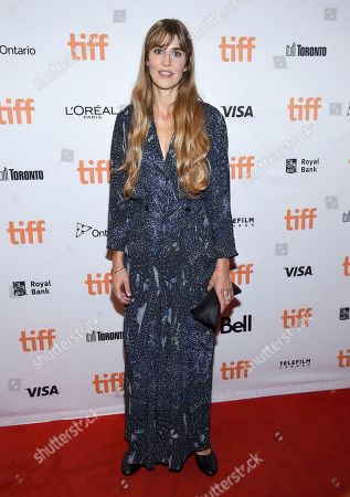 """Director Lisa Langseth attends a premiere for """"Euphoria"""" on day five of the Toronto International Film Festival at the Winter Garden Theatre, in Toronto"""