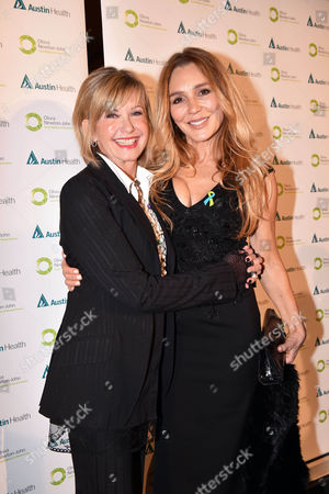 Stock Image of Olivia Newton-John and her niece Tottie Goldsmith
