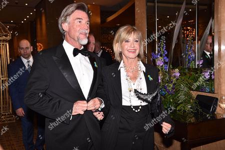 Olivia Newton-John and husband John Easterling