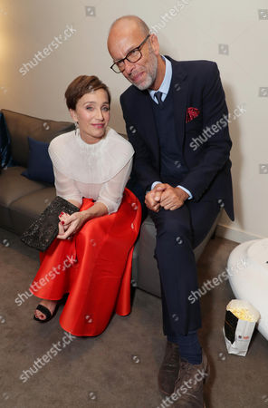 Kristin Scott Thomas and Eric Fellner, Producer
