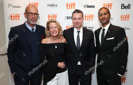 Eric Fellner, Producer, Lisa Bruce, Producer, Robert Walak, President of Focus Features, and Abhijay Prakash, Chief Operating Officer of Focus Features