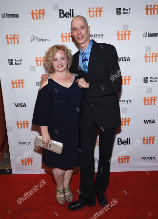 """Laurie Jones, Doug Jones. Actor Doug Jones and wife Laurie attends the premiere for """"The Shape of Water"""", on day five of the Toronto International Film Festival, at the Elgin Theatre, in Toronto"""