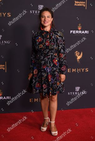 Monica Beletsky attends the 2017 Writers Nominee Reception presented by the Television Academy on at the Saban Media Center in the NoHo Arts District in Los Angeles