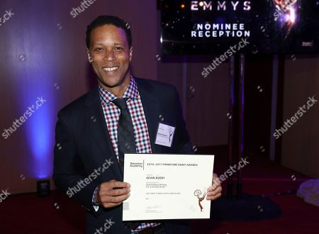 Stock Image of Kevin Avery attends the 2017 Writers Nominee Reception presented by the Television Academy on at the Saban Media Center in the NoHo Arts District in Los Angeles