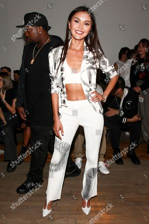 Soo Yeon Lee attends the NYFW Spring/Summer 2018 HELMUT LANG Seen By Shayne Oliver fashion show, in New York