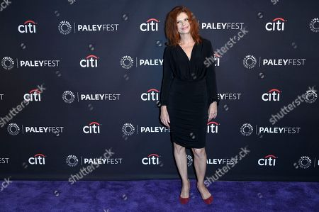 """Lolita Davidovich attends the 2017 PaleyFest Fall TV Previews """"Law & Order True Crime: The Menendez Murders"""" at The Paley Center for Media, in Beverly Hills, Calif"""