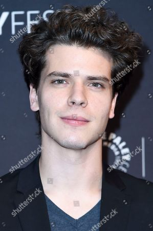 """Gus Halper attends the 2017 PaleyFest Fall TV Previews """"Law & Order True Crime: The Menendez Murders"""" at The Paley Center for Media, in Beverly Hills, Calif"""
