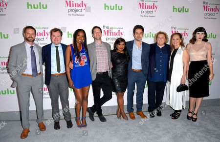 Editorial picture of 'The Mindy Project' TV show final season event, Arrivals, Los Angeles, USA - 12 Sep 2017