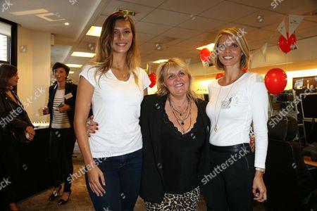Camille Cerf ; Valerie Damidot ; Sylvie Tellier