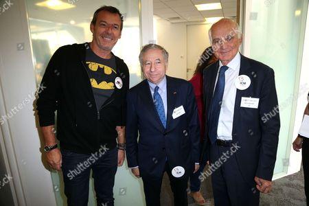 Jean-Luc Reichmann ; Jean Todt ; Gerard Saillant