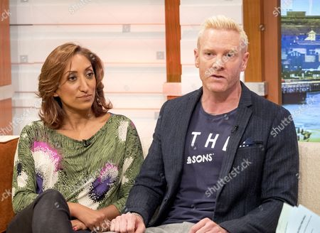 Shazia Mirza and Iwan Thomas